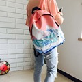 2016 Landscape Printing Backpacks For Teenage Girls Student Shoulder Bag Fashion Women Travel Satchel Canvas School Backpack