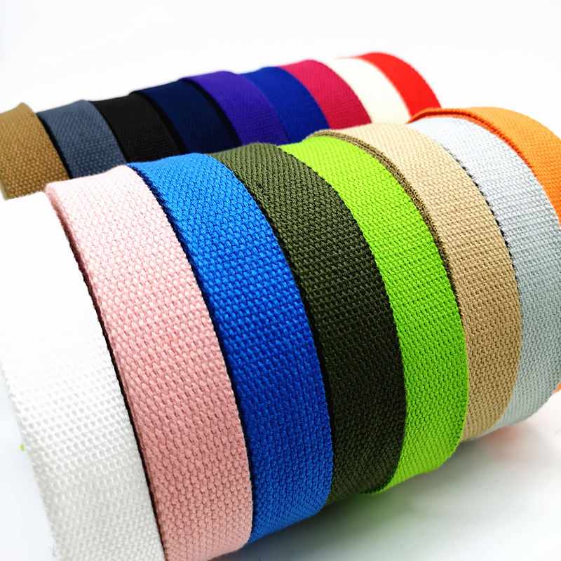bag straps sold by the metre belts webbing 25mm cotton//acrylic mix
