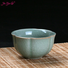 Jia-gui luo 60ml Chinese ceramic personal kung fu teacup kitchenware luo q blue 40