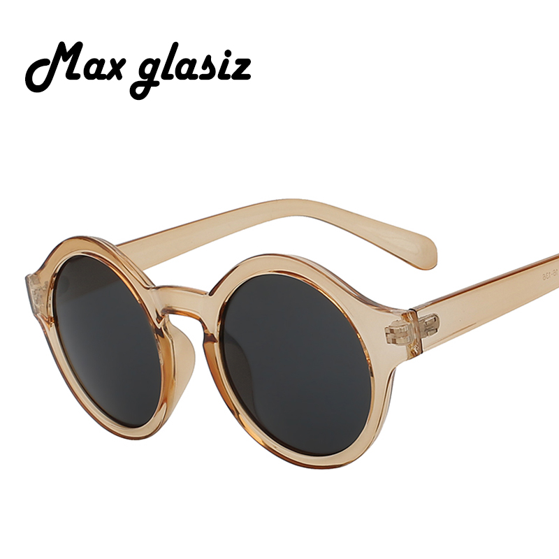 Circle Fashion Sunglasses Women Brand Designer Vintage Round Sunglasses Retro Female Lady Cute Pink Eyewear   UV400