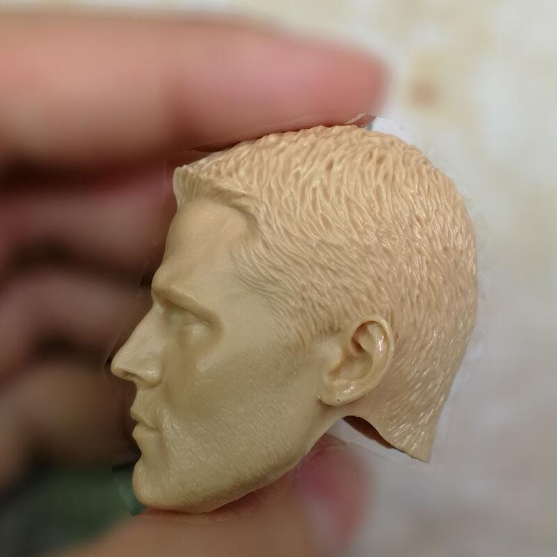 blank Hot 1//6 scale Head Sculpt Oliver Queen Arrow Unpainted