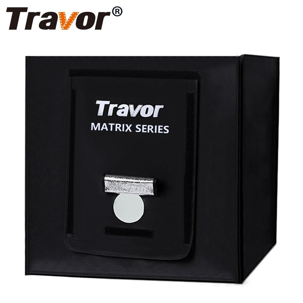 Travor 40 40cm LED Photo Studio Softbox Light Tent Soft Box with 2 4G Smart wireless