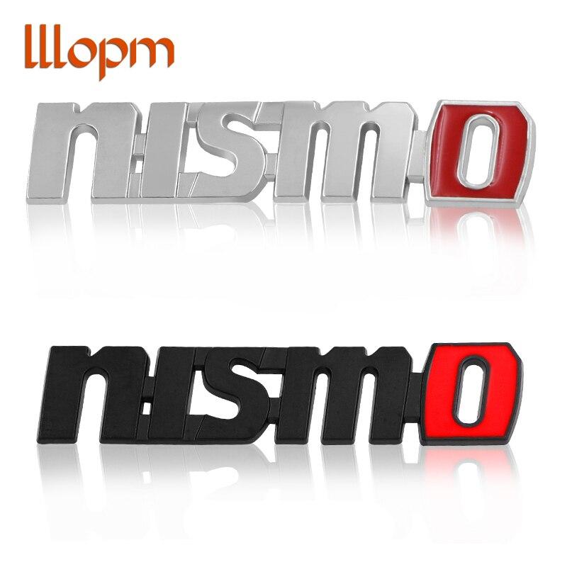 2pec/set Car Stickers Fender stickers Badge Emblem Car Styling For Nissan Nismo Tiida Teana Juke X-trail Almera Qashqai