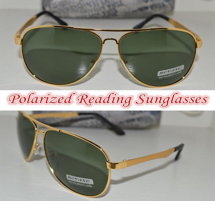 !!Polarized reading sunglasses!! alloy pilot polarized sunglasses Fashion Cool Man's choice +1.0 +1.5 +2.0 +2.5 +3 +3.5 +4.0