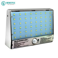 48leds LED Solar Light Waterproof 3 2V 4W Motion Sensor Solar Lamp Outdoor Lamp Street Light