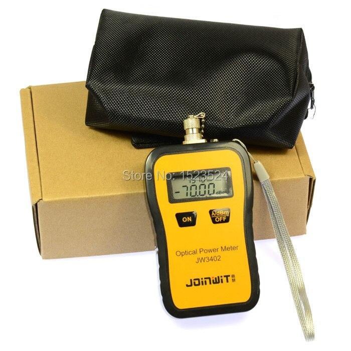 Telecommuniation -70~+6dBm JW3402A Portable Mini Fiber Optical Power Meter