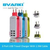 Bvanki 2016 New Item EU US UK AU Plus Wholesale ABS Travel Charger With 1