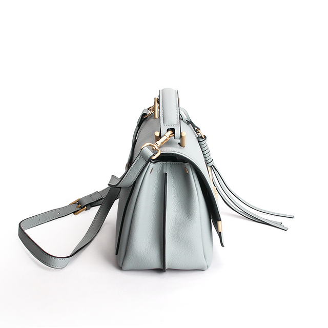 Summer Fashion Famous Brand 100% Genuine Leather Women's Handbags Ladies Small Purse Shoulder Messenger Bags Clutch Female Bag