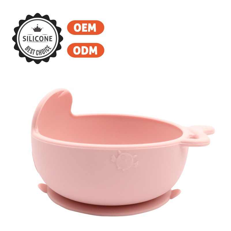 Baby Feeding Learning Dishes Suction  Bowl High Quality Assist Toddler Baby Food Dinnerware For Kids Eating Training Gyro Bowl