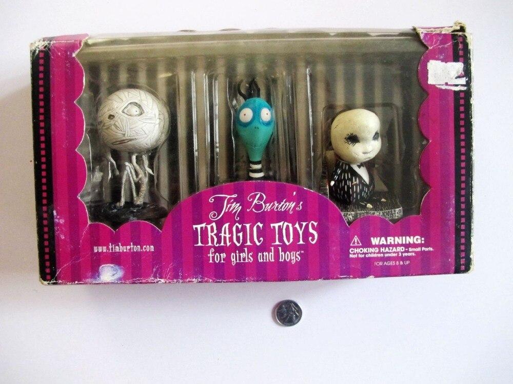 Tim Burton TRAGIC TOYS Melancholy Death of Oyster Boy out of  print валерий витальевич маскарадов не унывай