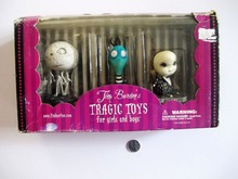 Tim Burton TRAGIC TOYS Melancholy Death of Oyster Boy out of  print
