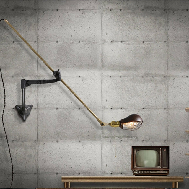 Antique Industrial Wall Lamp Classic Art Nordic Wall Light