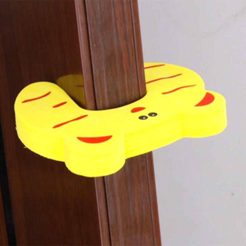 Children Safety Cartoon Door Clamp Pinch Hand Security Stopper Cute Animal