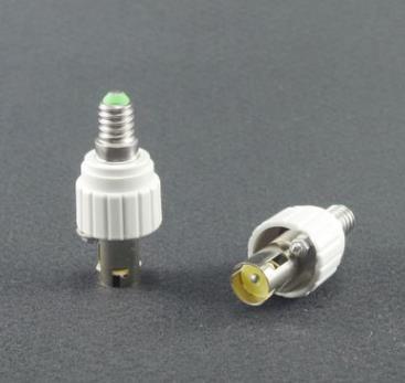 50pcs E14 To B15 Ba15s Lamp Holder Converter For Light Bulb Lighting Accessories