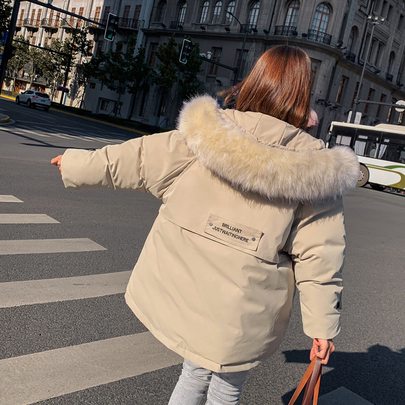 New 2020 Winter Jacket Women parkas Fashion women's jacket fur collar Outerwear Female coats Coat Hooded parkas mujer parka