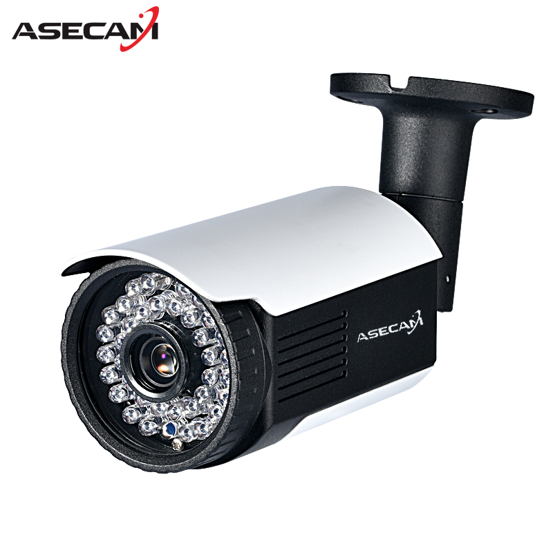 New HD 720P IP Camera CCTV Infrared Night Vision 48V POE Bullet Metal Waterproof Outdoor Onvif WebCam Security Surveillance p2p zoom 2 8 12mm metal hd 720p ip camera outdoor waterproof security night vision p2p mobile alarm