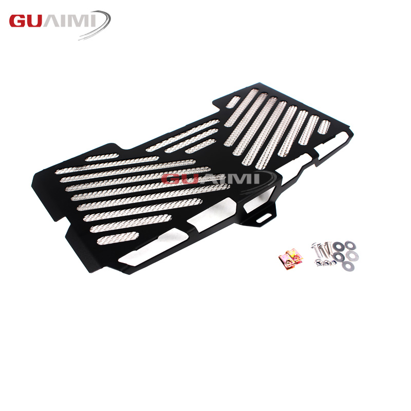 все цены на Motorcycle Radiator Guard Stainless Steel Cover Grille Protector Accessories For BMW F650GS F700GS F800R F800S F 650 700 GS онлайн