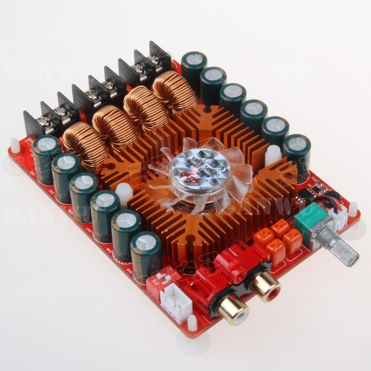 TDA7498E digital power amplifier board 2X160W stereo BTL220W single channel high power digital power amplifier недорого