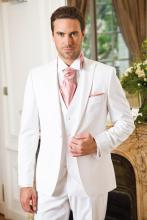 цены Custom Made Groom Tuxedos White Groomsmen Peak Lapel Best Man Suit/Bridegroom/Wedding/Prom/Dinner Suits (Jacket+Pants+Tie+Vest)