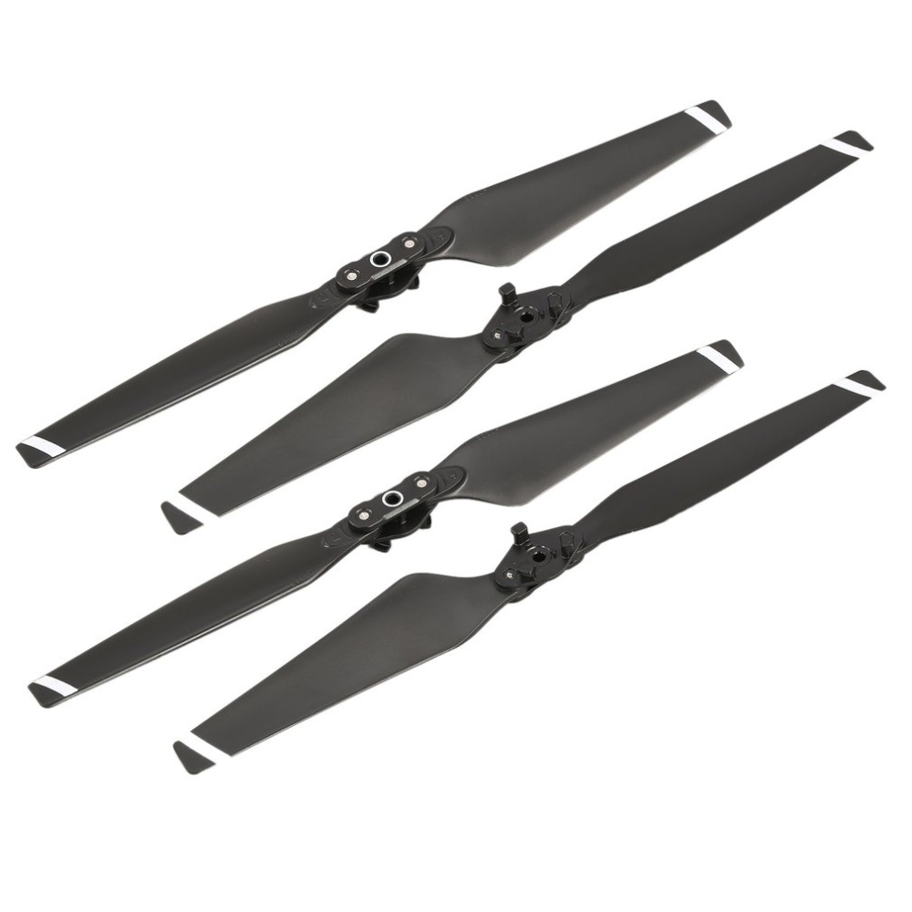 2 Pairs ABS Spare Parts Quick Release Foldable 8330 CW CCW Replacement Blades Propellers for DJI