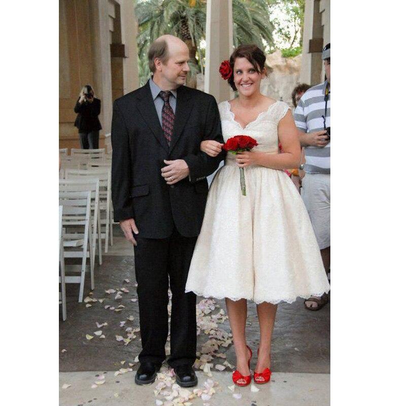 Plus Size Tea Length Wedding Dresses Australia - Wedding Dress Ideas