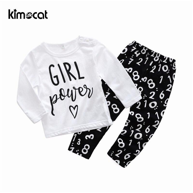Купить комплект одежды kimocat для новорожденных девочек пуловер с