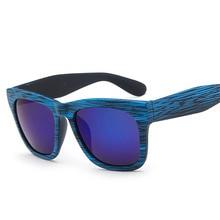 Blue Retro sun glasses fashion women men luxury brand design
