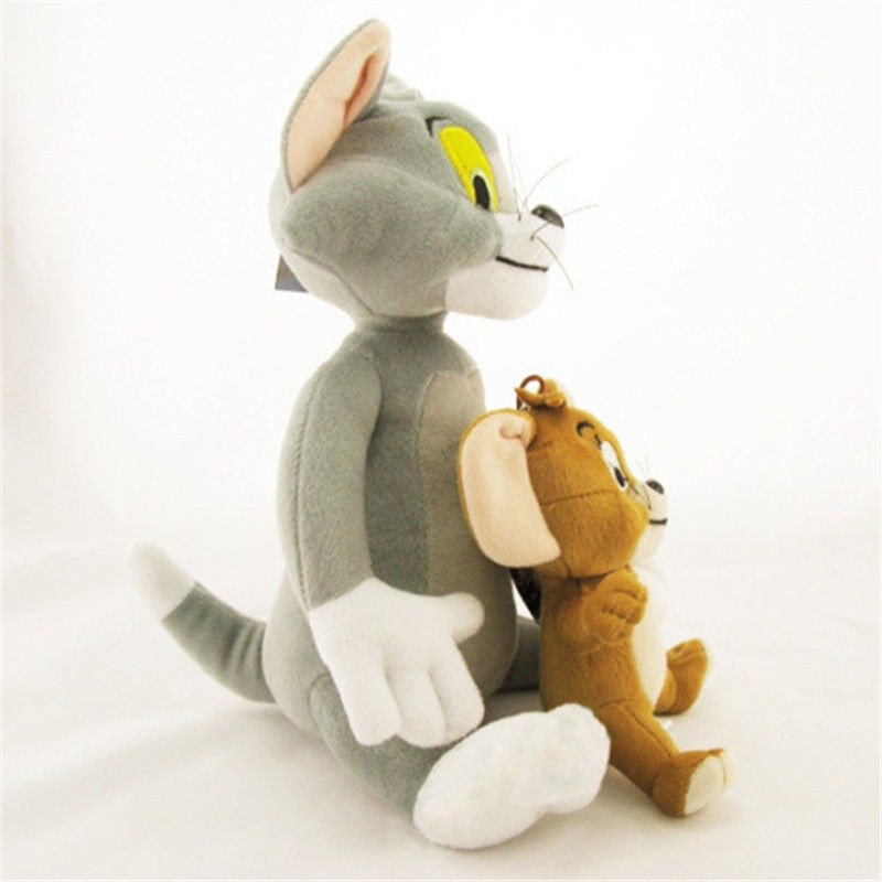 Funny cartoon Tom and Jerry Plush toy doll Good fabric and plush A Christmas present for the children cat and mouse