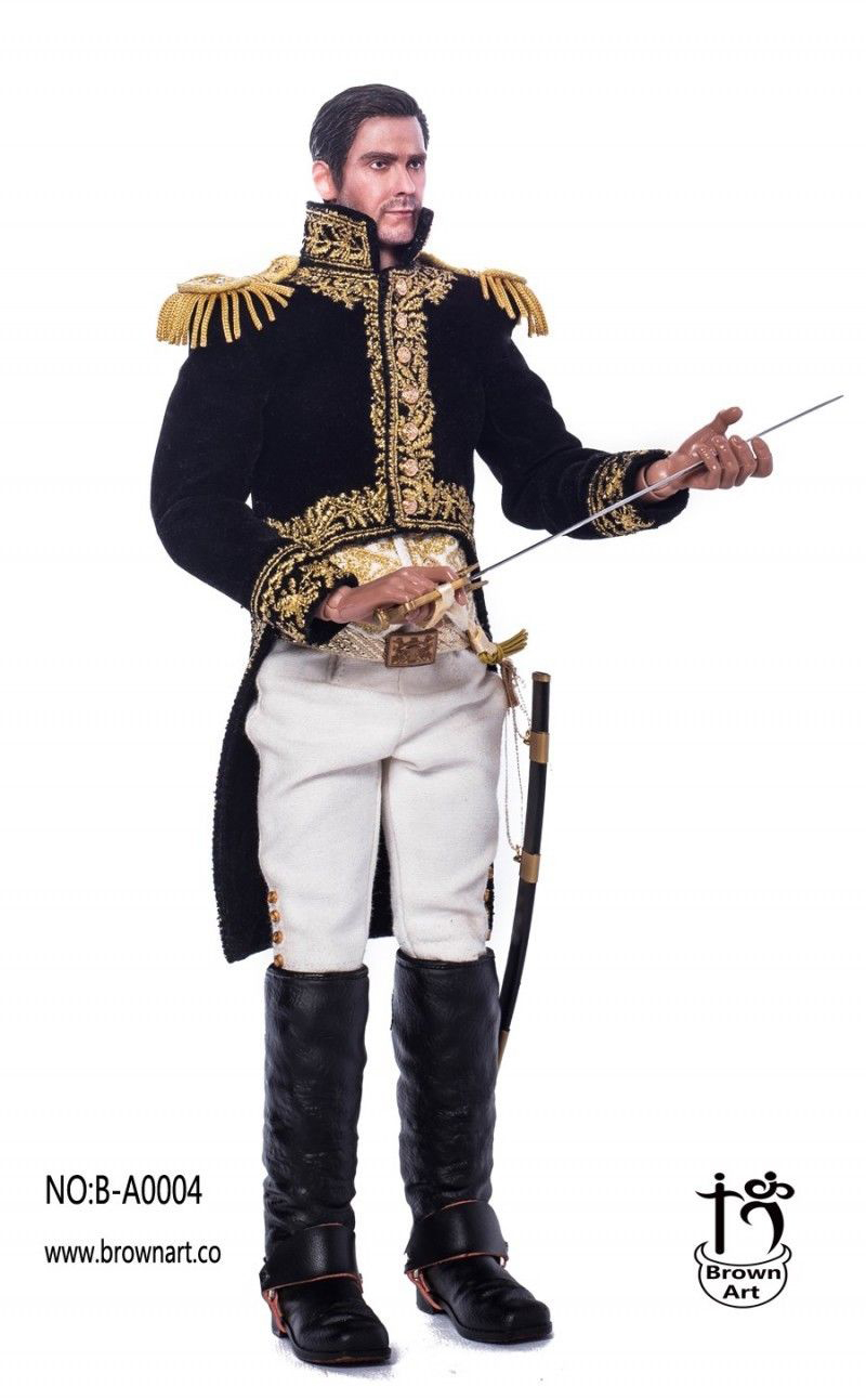 For Collection Brown Art 1 6 French Marshal of the Empire B A0004 Solider Figure Collection full set doll in Action Toy Figures from Toys Hobbies