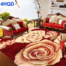 European and American pastoral living room coffee table wool carpet bedroom bed carpets New Zealand woven