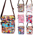 Famous Brand Designer Women Crossbody Bags Floral Flowers Messenger Shoulder Cartoon Bag Light Weight Waterproof Hobo Flap