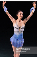 Professional Custom Ice Skating Competition Dress For Women Beautiful New Brand Vogue Figure Skating Dresses DR2817