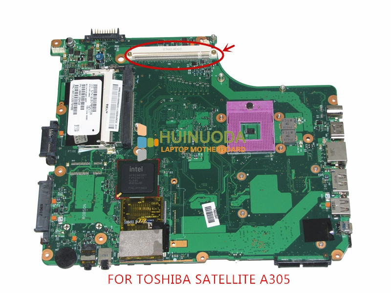 NOKOTION for toshiba satellite a300 A305 laptop motherboard V000126450 gm45 ddr2 with graphics slot икона янтарная богородица скоропослушница кян 2 305