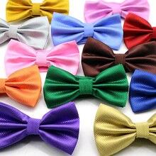 Регулируемый мужской Одноцветный галстук-бабочка из полиэстера и шелка, галстук-бабочка для джентльмена, галстук-бабочка для свадьбы, бизнеса, в клетку, галстук-бабочка, подарок