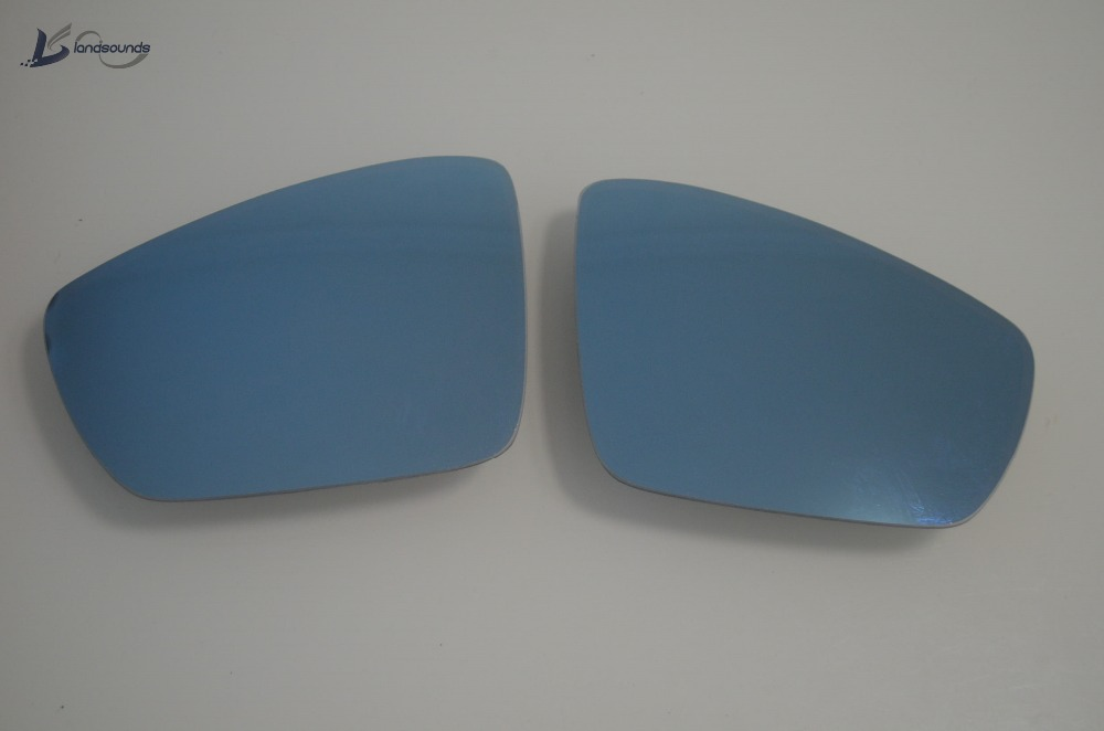 Landsounds Auto Dimming Rear View Mirror Blue Mirror Glass