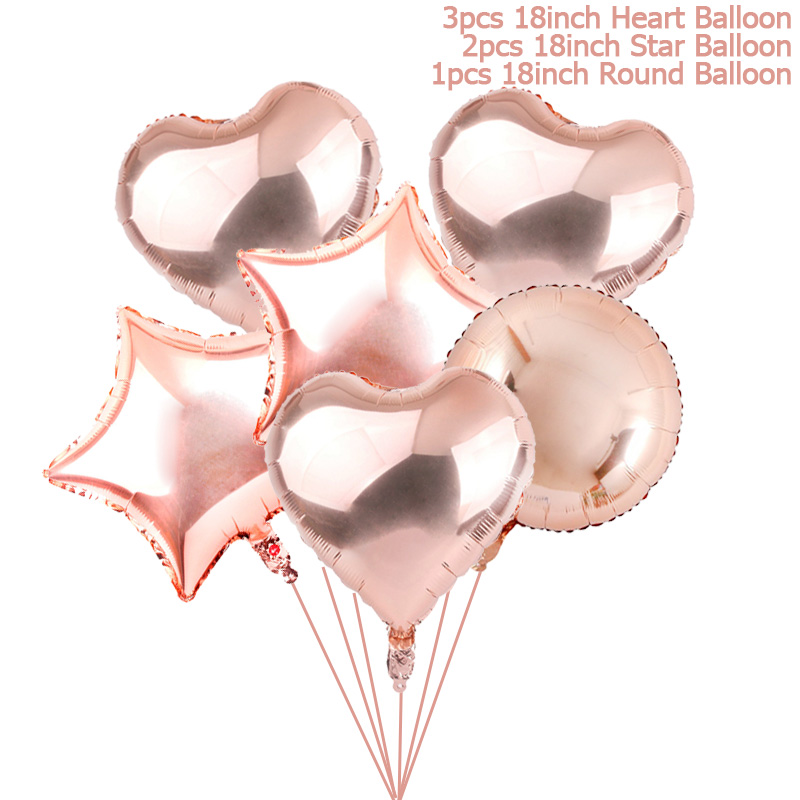 Globos de cumpleaños Flamingo / Piña / Sirena Globos de aluminio - Para fiestas y celebraciones - foto 4