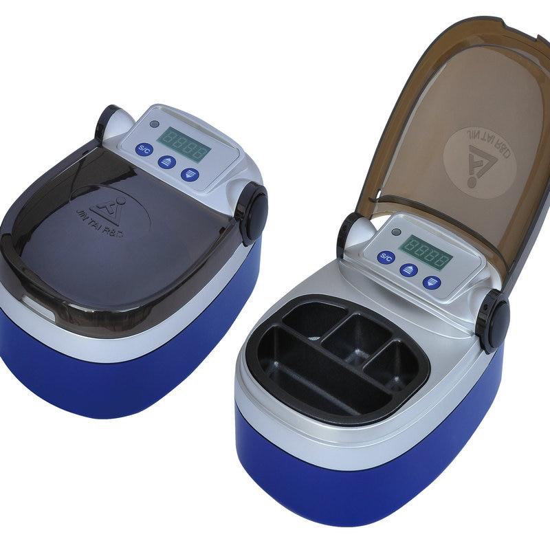 4-well pot Digital Dental Wax Melter Dental lab wax Melting Dipping Heater Digital wax melter dental lab equipment wax heater 4 well wax heating analog dipping pot free shipping