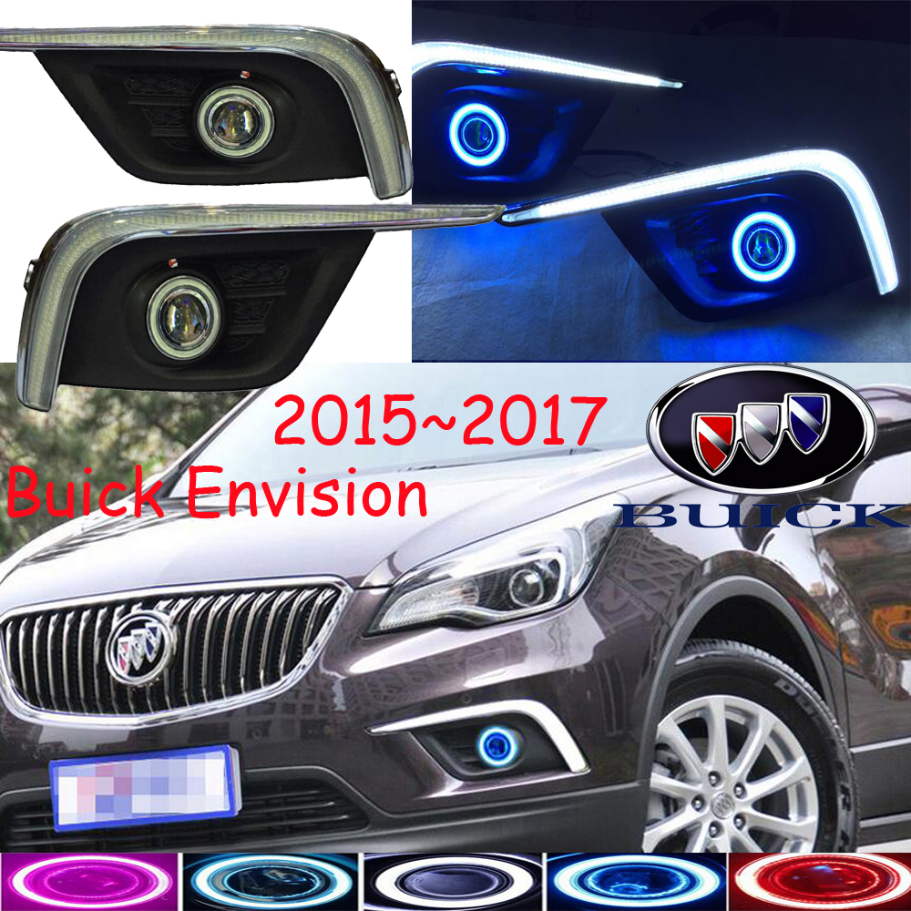Envision daytime light;2015~2017,Free ship!LED,Envision fog light,LED+HID/Halogen,2ps/set;Envision headlight teana fog light 2pcs set led sylphy daytime light free ship livina fog light