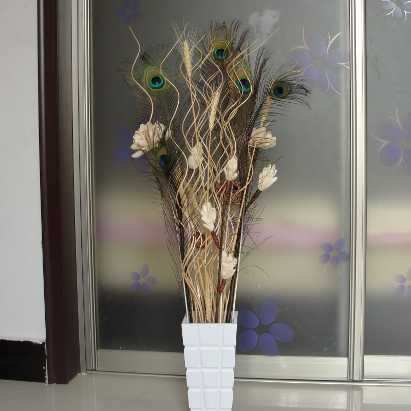 Flowers Decoration For Home: Mikie Dried Flowers Decoration Flower Natural Corn Bran