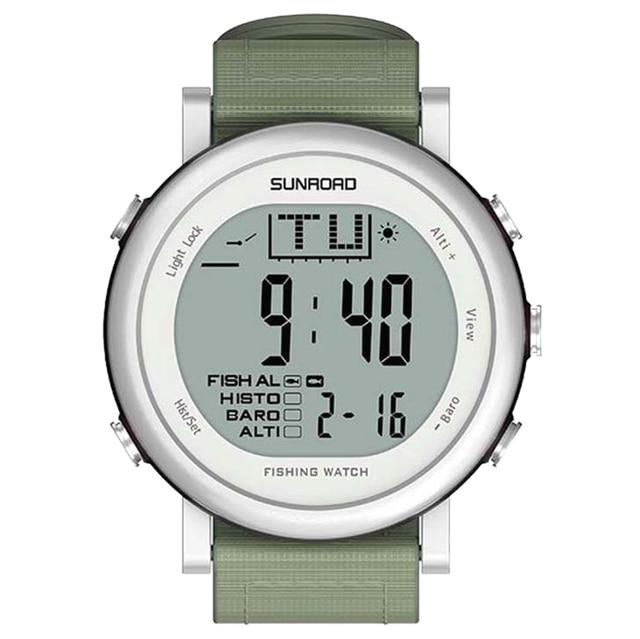 fc8cf412b25 SunRoad Pesca Relógio Altímetro Barômetro Termômetro Previsão do tempo  Relógio de Escalada Ao Ar Livre Dos