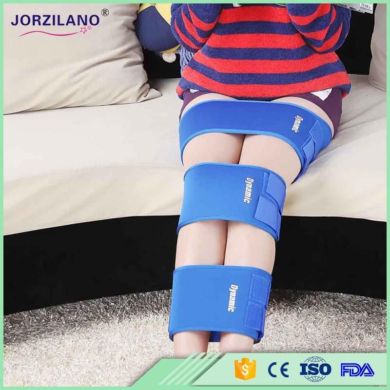 קשת O X סוג רגל יציבה מתקן חגורה קל עקומות אלסטית מתכווננת תחבושת ירך רגליים חגורת אורטופיים כלי קלטת בריאות