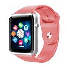 NEUE A1 Armbanduhr Bluetooth Smart Uhr Sport Pedometer Mit SIM Kamera Smartwatch Für Android Smartphone Russland T15