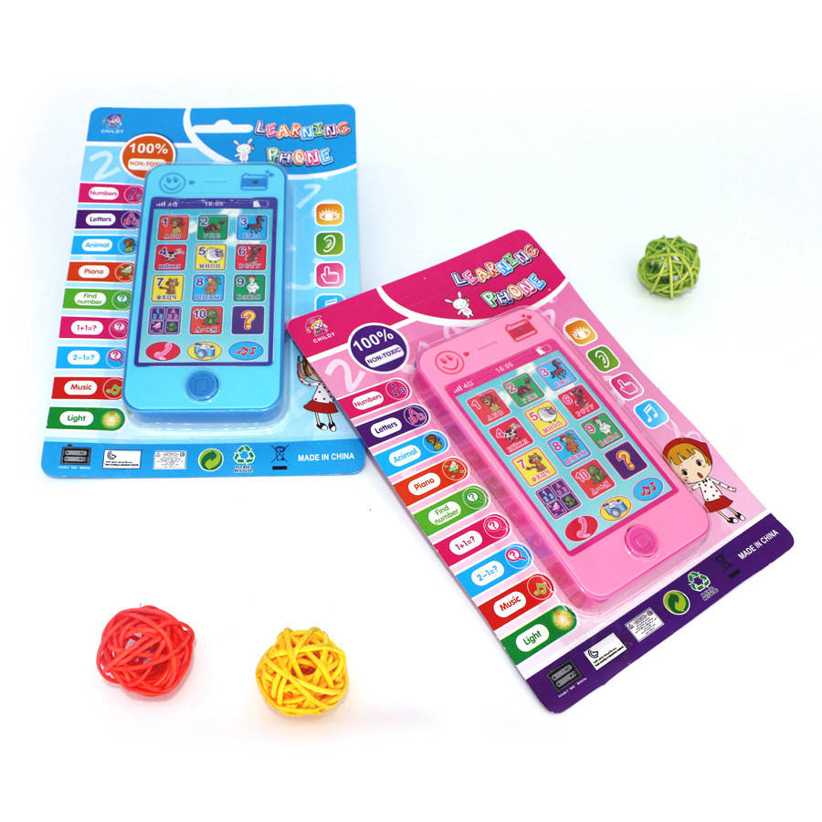 Russian Language Musical Learning Machines Russian Alphabet Music Learning Education Toys Phone Toys For Kid Baby