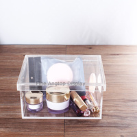 Acrylic Gift Box Wedding Baby Shower Favors Jewelry Accessories Display Box