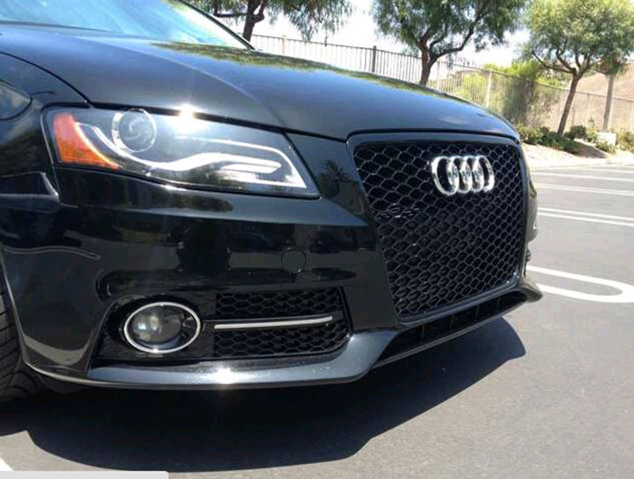 Replacement Rs4 Sline Gloss Black Front Bumper Fog Lamp Light Cover