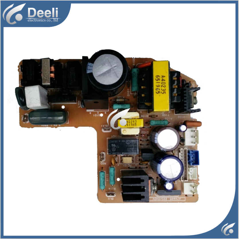 95% new Original for air conditioning Computer board A74696 A74695 circuit board bespeco bp40mxe