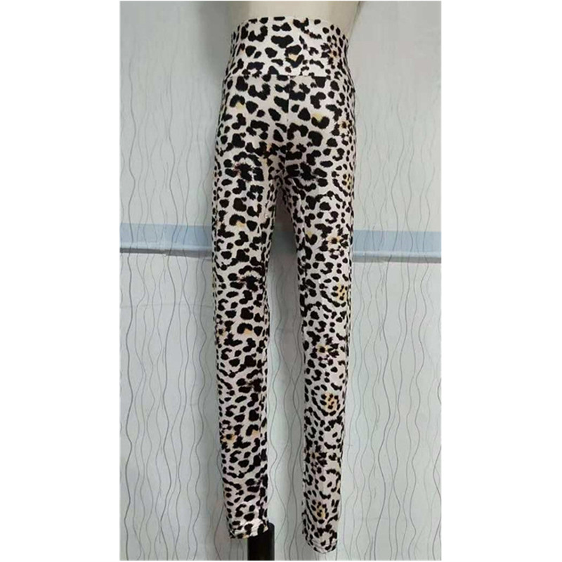 New Fashion 2019 Leopard Printing Elasticity Leggings Fitness Pant Leggins Casual Workout Legging For Women Stretch Trousers