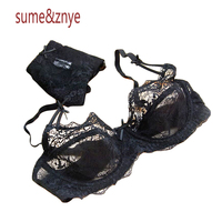 Summer Lace Transparent Gauze Underwear Ultra Thin Sexy Young Girl Bra Set