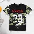 Alisister new fashion men/women 23 PYREX t-shirt Graphics t shirt shirts 3d short sleeve summer casual hiphop street wear shirts
