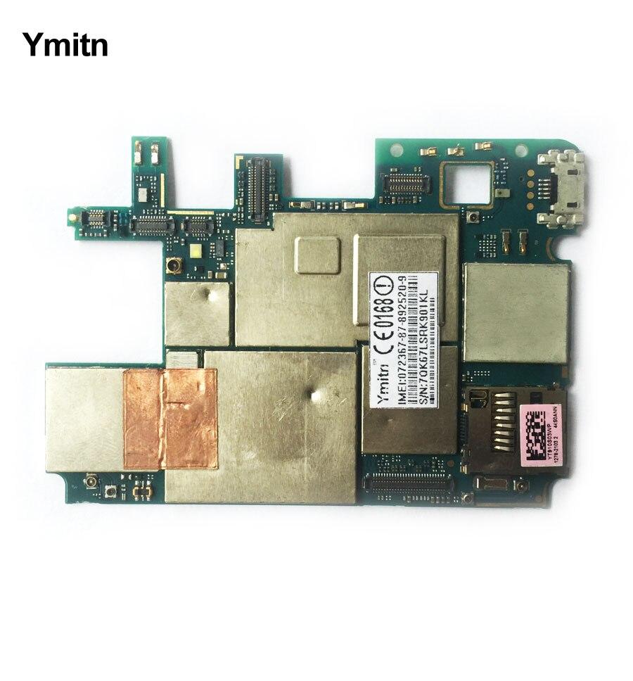 Ymitn Logement Mobile Électronique panneau carte mère Carte Mère Circuits Câble Pour Sony xperia T2 Ultra XM50h XM50t D5303 D5322
